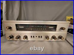 Vintage Fisher 500c Fm Stereo Tube Receiver Amplifier Restored & Tested