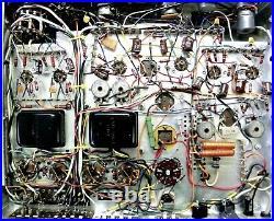 Vintage Fisher KX-200 Stereo Tube Integrated Amplifier Telefunken Tubes