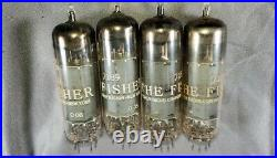 Vintage Fisher Sa-100 Tube Chassis Stereo Amplifier Untested Parts/repair