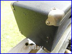 Vintage Garnet ZAK Stencil Tube Amp Head 2X 6L6 power