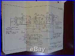 Vintage Gates M5530 Tube Pre-Amplifier Utility Amplifier Mic M5382A Pre-Amp, 1964