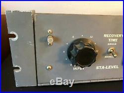 Vintage Gates M-5167 Sta-Level Tube Compressor Limiter Amp Great Condition