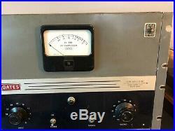 Vintage Gates SA-39B Tube Compressor Limiter Amp Good Condition 994-3529-003
