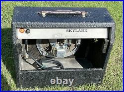 Vintage Gibson Ga-5 Vacuum Tube Guitar Amp Rebuilt Recapped 10 Watt Amplifier
