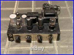 Vintage Grommes Little Jewel LJ-6 Mono 6V6 Vacuum Tube Amplifier