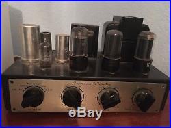 Vintage Grommes Little Jewel Mono Tube Amplifier, LJ6, Works