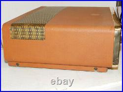 Vintage Grommes Model 40PG Tube Hi Fidelity Amplifier Amp Rare Works