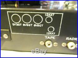 Vintage Grommes Tube Amplifier Model LJ5 with full tube compliment