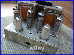 Vintage Grundig tube power amp. Great worked condition. Withtested. Germany