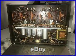 Vintage HARMON KARDON CITATION II Stereo Tube Amplifier Serviced and Tested LOOK