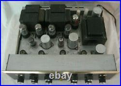 Vintage HH SCOTT LK-72 Stereo Laboratory Tube Amplifier / Project