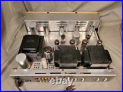 Vintage H. H. Scott 222C 6BQ5 Tube StereoMaster Lab Amplifier Clean & Restored