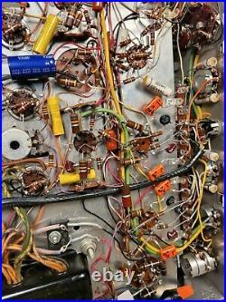 Vintage H. H. Scott 222 A 6BQ5 Tube StereoMaster Amplifier Clean & Restored