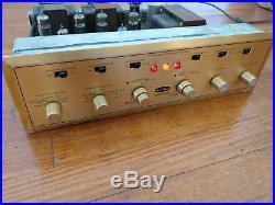 Vintage H H Scott 299 Tube Stereo Amplifier Amp, Original Works, Needs Tubes