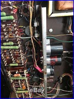 Vintage Harman Kardon Citation 2 tube stereo power amp amplifier, rebuilt