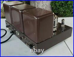 Vintage Harman Kardon Citation II Tube Amplifier Amp Serviced Works Exct 6550