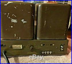 Vintage Harman Kardon Citation ll 2 Tube Amplifier For Repair KT88 6550 Amp
