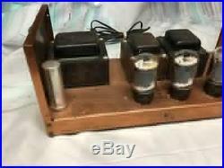 Vintage Harman Kardon HK-250 Power Tube Amplifier Untested As Is