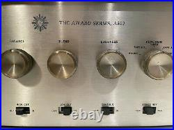 Vintage Harmon Kardon A500 Tube Amplifier withMetal Cover in EXCELLENT condition