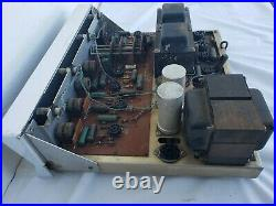 Vintage Heathkit AA-100 Daystrom Tube Amplifier with Manual FOR PARTS ONLY