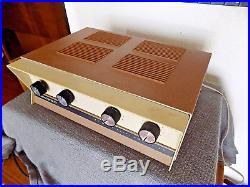 Vintage Heathkit AA-23 25watt tube amplifier 6eu7 driver 7591 push-pull