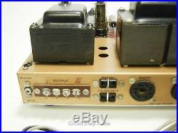 Vintage Heathkit AA-30 / EL84 Stereo Tube Amplfier - KT