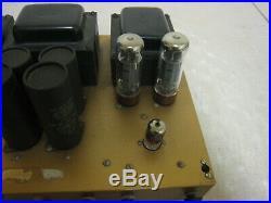 Vintage Heathkit AA-40 AA 40 Tube Amplifier Amp READ DESCRIPTION