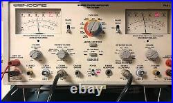 Vintage Heathkit AA-40 / Daystrom 40WithCh Stereo (80W Mono) Tube Amp RESTORED