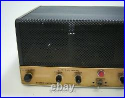 Vintage Heathkit AA-40 / Daystrom Stereo Tube Amplfier - KT#2
