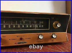 Vintage Heathkit AJ 32 Vacuum Tube AM FM Stereo Tuner Amplifier Atomic Radio