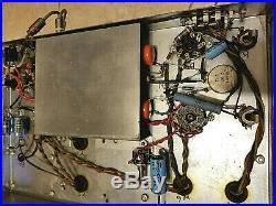 Vintage Heathkit W4 mono tube amplifier EL34, serviced & working
