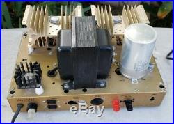 Vintage Heathkit W-5M Tube Mono Amplifier Amp Cage Cover & Chasis