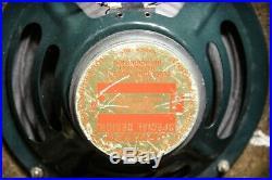 Vintage Holiday Low Watt Small Tube Guitar Amp with Jensen Speaker