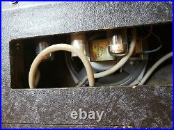 Vintage KAY K503A Early 1960s Tube Amp Harp Harmonica Spaghetti Grill Amplifier