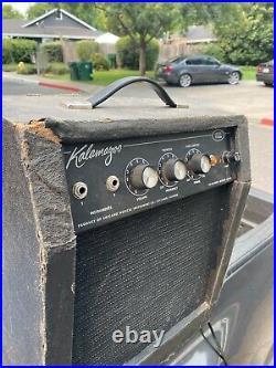 Vintage Kalamazoo Model Two Tube Amp Guitar Amplifier TURNS ON