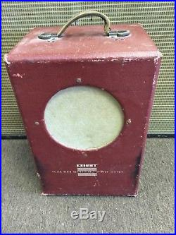 Vintage Knight 93-350 Tube Amp Amplifier for Guitar or Harp