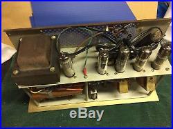 Vintage Knight KG-250 Stereo Tube Amplifier 6BM8