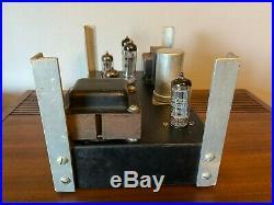 Vintage Knight KM15 Tube Amplifier EL84 12AX7 fr Guitar Amp WORKING Black Beauty