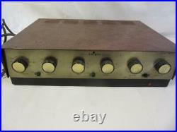 Vintage Knight KN530 EL34 6CA7 Vacuum Tube Amplifier