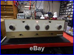 Vintage Lafayette Model LA-240 Stereo Integrated Tube Amp with Manuals