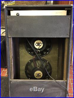 Vintage Lafayette Univox Tube Guitar Combo Amp 2x10 Jensen Speakers