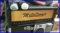 Vintage Lee Jackson Metaltronix M-1000 100-Watt Tube Amplifier, been refurbished