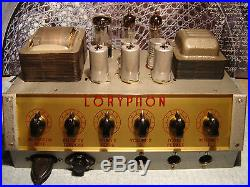 Vintage Loryphon-Binson 3Tube Amp absolute Rarität