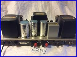 Vintage Luxman MQ68C 50CA10 Tube Amp EF86 6240c W Output Transformers, Choke