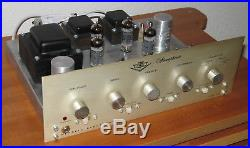 Vintage MERRELL SA-40 Stereo Tube Amplifier, EL84 Quad Output
