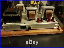 Vintage Magnavox 9304 20 El84/6bq5 Stereo Tube Amp Plug And Play