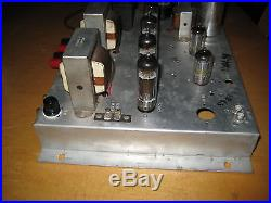 Vintage Magnavox 9304-20 Stereo Tube Amplifier with tubes
