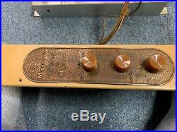 Vintage Magnavox Vacuum Tube Amplifier Amp 142 Bc