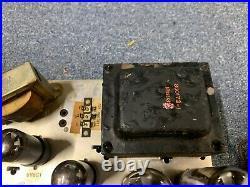 Vintage Magnavox Vacuum Tube Stereo Amplifier Amp 81-01-00 Imperial