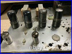 Vintage Magnavox Vacuum Tube Stereo Power Amplifier Amp 175-67